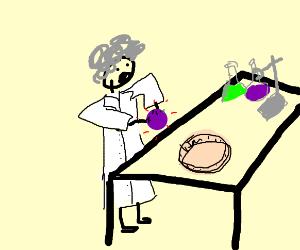 scientist discovers grape