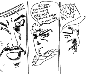 Jojo says: How many bread? WRYY