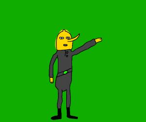 Earl of Lemongrab UNACCEPTABLE