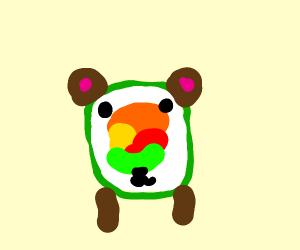 Sushi bear?