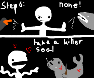 Step 5: Killer penguin or Killer shark?
