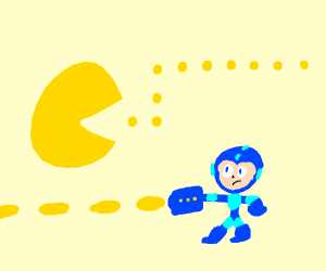 pac-man and mega-man