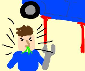 Mechanic Sneezing