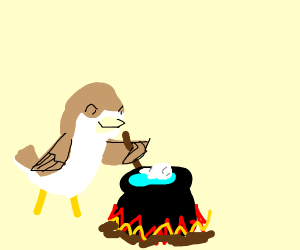 Nightingale cooking a Tooth