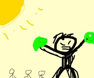 Titan breaking a Lime