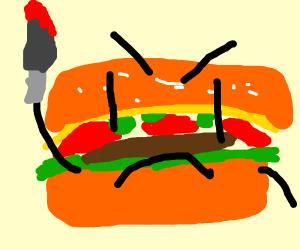 Murder hamburger