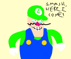 Waluigi in green