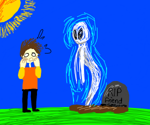 best friend meeting his dead friend that died