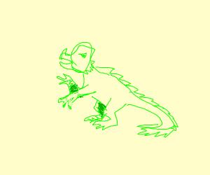 Lizard/Green Charmander Animal