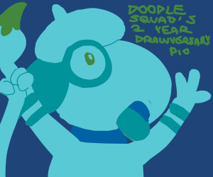 Doodle squad's 2nd year drawversary! PIO