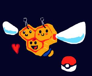 bee pokemon (im sorry)