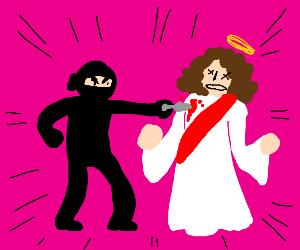 A ninja kills jesus