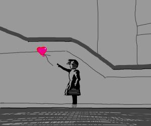 Banksy, being Banksy.