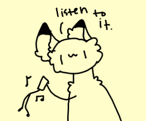 Foxy begging someone to listen to his song