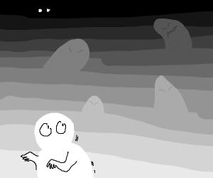 beware the shadows