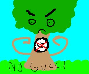 Tree doesn't like gucci gang
