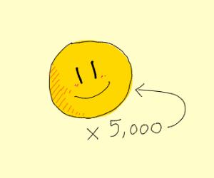 5,000 Smile Emotes!