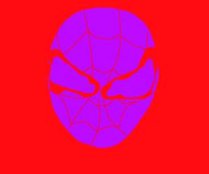 inverted colors spooderman