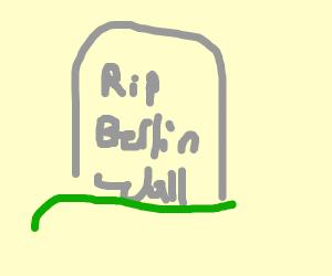 R.I.P. Berlin Wall