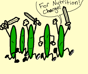 Army of green beans