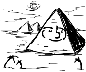 Lenny is the great pyramid