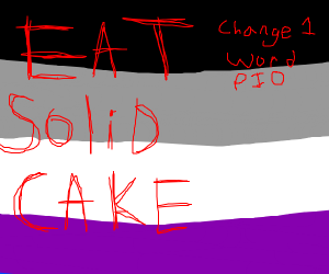 Eat Solid Snake (Change 1 word PIO)