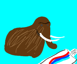 mammoth toothpaste