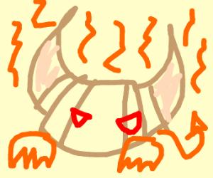 Devilish bread