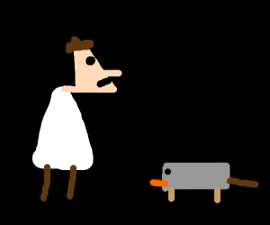 Doofenburger is confuse by a ordinry platapus