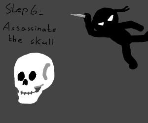Step 5: Don't trust the skull.