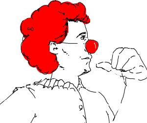 Proud clown