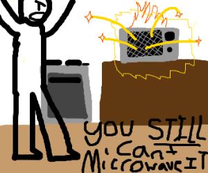 Baby malfunction in microwave