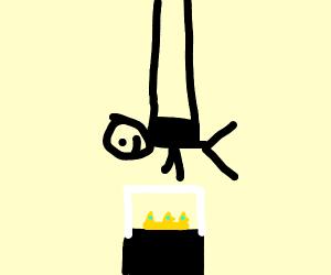 Robbing a crown