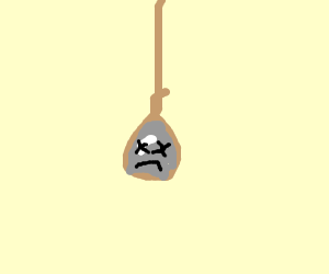 rock hanging self ( f for respect )