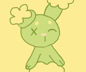 a zombie Buneary