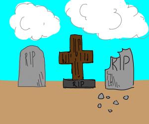 3 graves