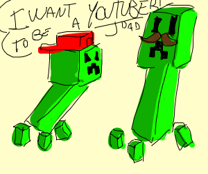 Creeper is a disappointment to his father
