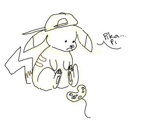 Gamer Pikachu but he's sad