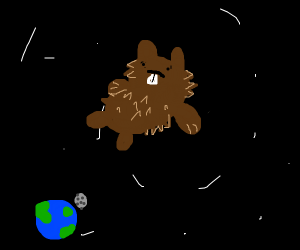 Beaver in Space
