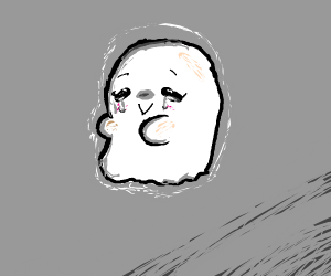 a spoopy ghost