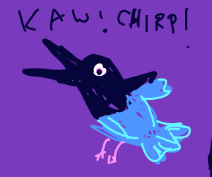 Crow/Bluebird hybrid