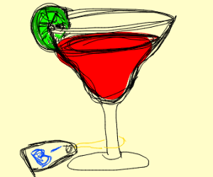 Bloody margarita