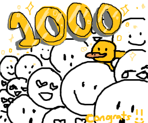 Oh wow I have 1000 emotes