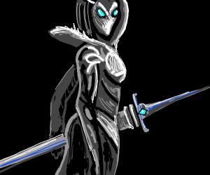 a female knight