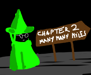 """Ralsei: """"Chapter two is MILES away"""""""