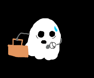 Business ghost is running late