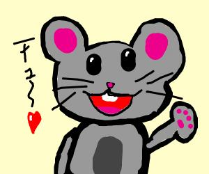 cute mouse (KAWAIIIII)