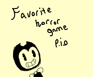 Favourite horror game PIO