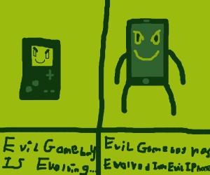 evil gameboy has evolved