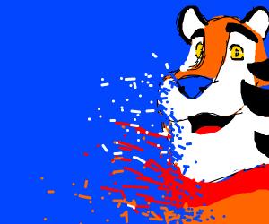 Tony the tiger doesn't feel so grrrreat